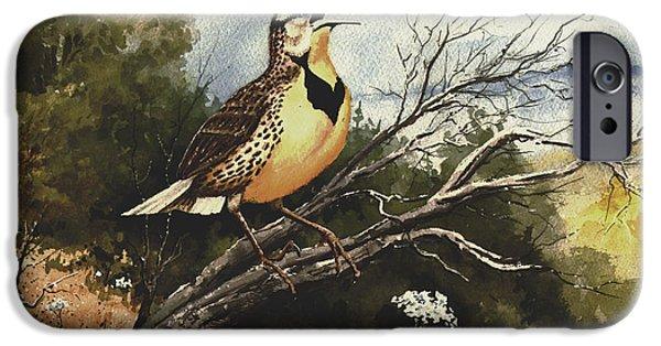 Meadowlark iPhone 6s Case - Eastern Meadowlark by Sam Sidders