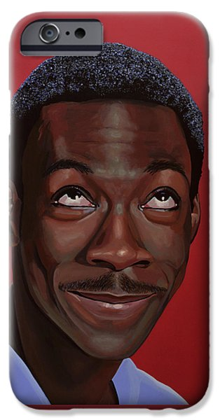 Eddie Murphy Painting IPhone 6s Case
