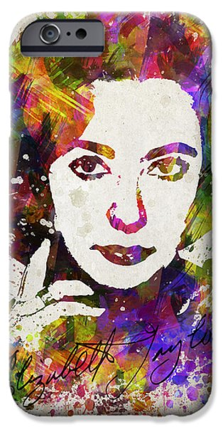 Elizabeth Taylor In Color IPhone 6s Case