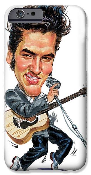 Elvis Presley IPhone 6s Case by Art