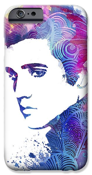 Elvis Presley IPhone 6s Case by Watercolor Girl