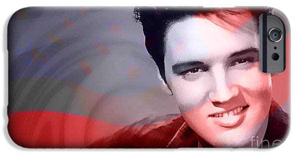 Elvis Presley IPhone 6s Case by Marvin Blaine