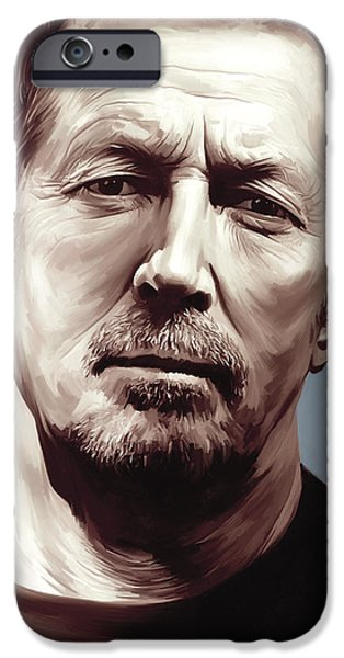 Eric Clapton Artwork IPhone 6s Case by Sheraz A