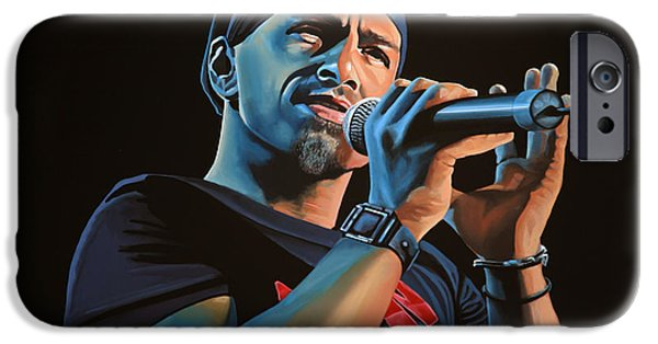 Contemporary Realism iPhone 6s Case - Eros Ramazzotti Painting by Paul Meijering