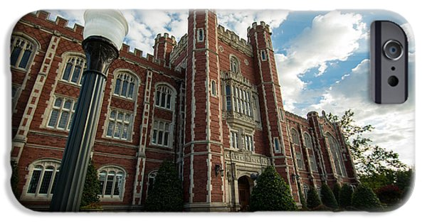 Evans Hall In The Evening IPhone 6s Case by Nathan Hillis