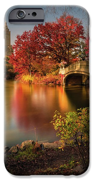 New Leaf iPhone 6s Case - Fall In Central Park by Christopher R. Veizaga