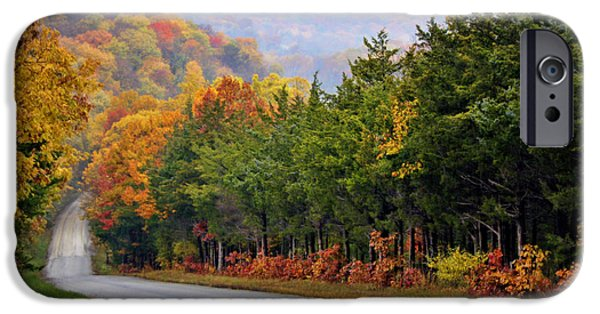 Cricket iPhone 6s Case - Fall On Fox Hollow Road by Cricket Hackmann