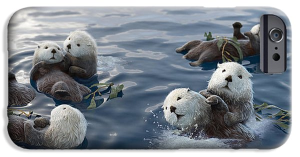 Otter iPhone 6s Case - Family Fun by Gary Hanna