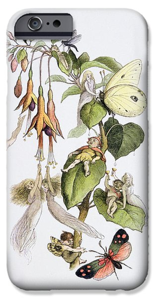 Feasting And Fun Among The Fuschias IPhone 6s Case by Richard Doyle