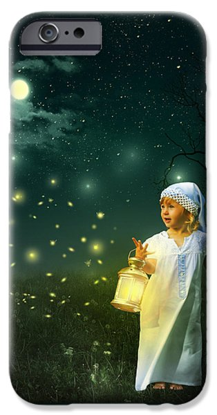 Fireflies IPhone 6s Case by Linda Lees