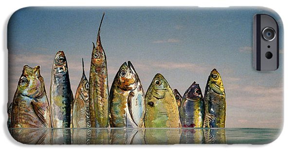 Fishhattan IPhone 6s Case by Juan  Bosco