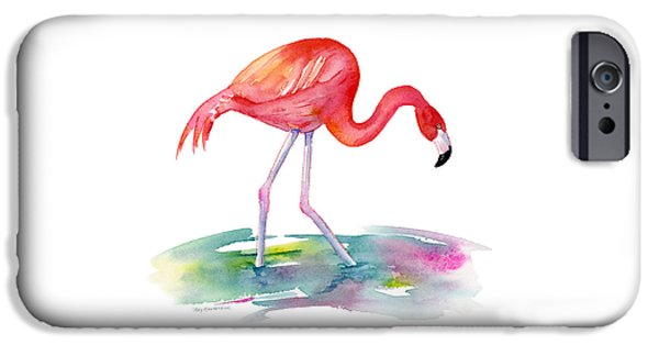Flamingo Step IPhone 6s Case