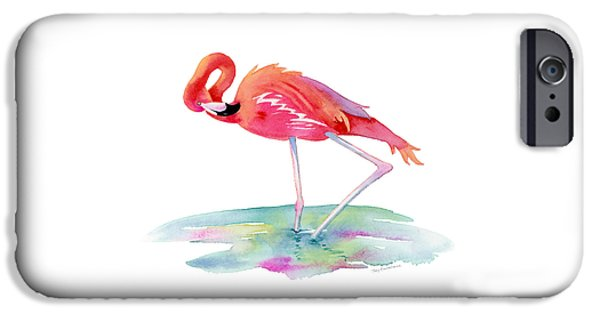 Flamingo View IPhone 6s Case