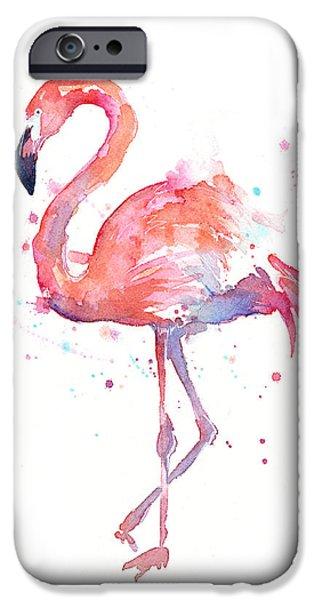 Flamingo Watercolor IPhone 6s Case