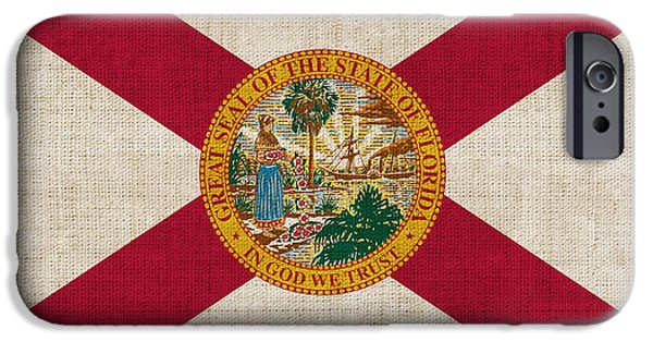 Florida State Flag IPhone 6s Case by Pixel Chimp