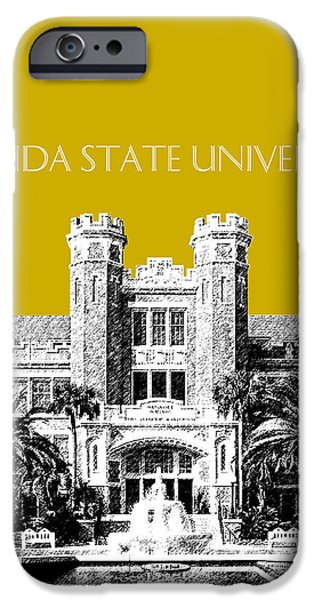 Florida State University - Gold IPhone 6s Case by DB Artist
