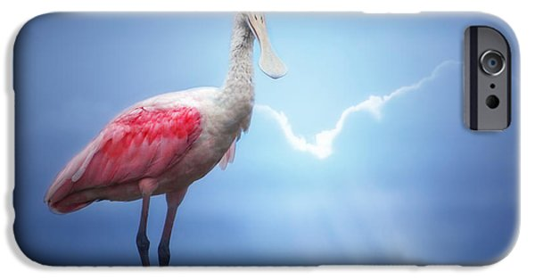 Foggy Morning Spoonbill IPhone 6s Case by Mark Andrew Thomas