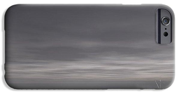 Foggy Stillness IPhone Case by Lourry Legarde