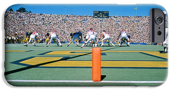 Football Game, University Of Michigan IPhone 6s Case by Panoramic Images