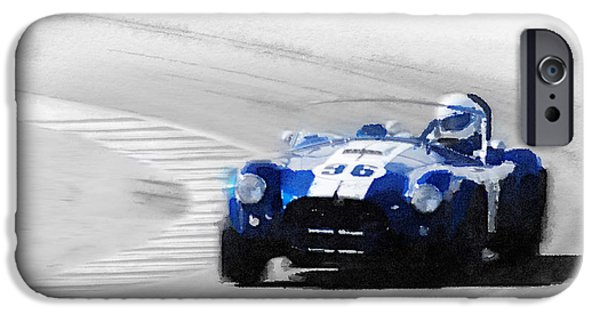 Cobra iPhone 6s Case - Ford Shelby Cobra Laguna Seca Watercolor by Naxart Studio