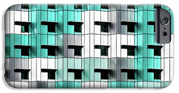 Teal iPhone 6s Case - Forty Windows by Wayne Pearson