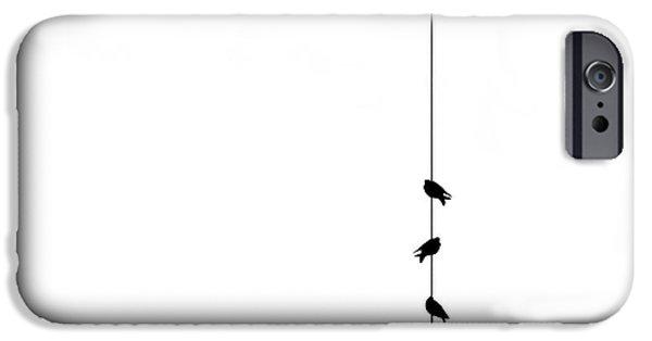 Pigeon iPhone 6s Case - Four by Klaus Lenzen