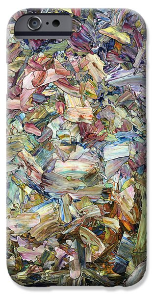 Contemporary Realism iPhone 6s Case - Roadside Fragmentation by James W Johnson