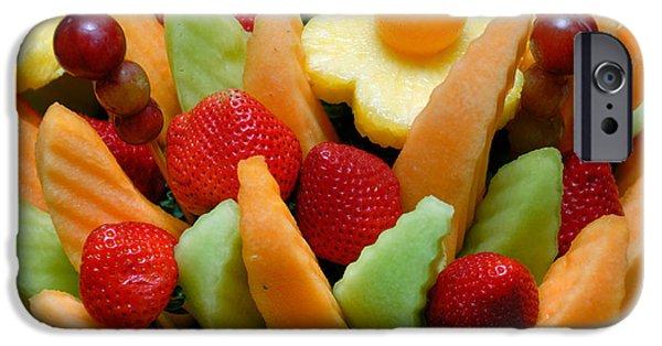 Fresh Fruit Arrangement IPhone Case by Amy Cicconi