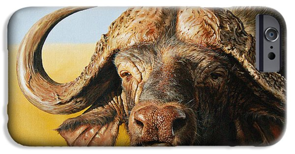 African Buffalo IPhone 6s Case by Mario Pichler