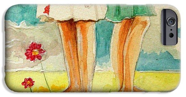 Garden iPhone 6s Case - Friendship by Elizabeth Robinette Tyndall