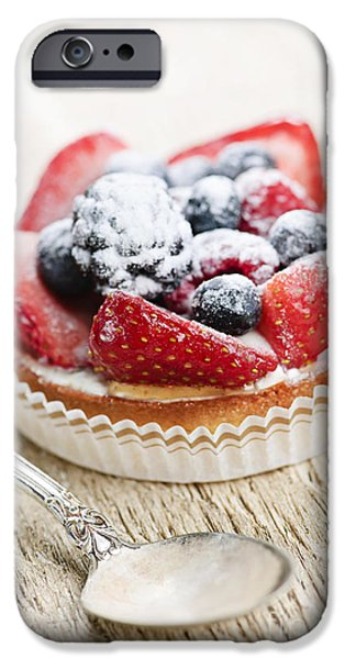 Fruit Tart With Spoon IPhone 6s Case