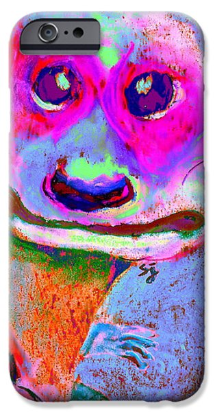 Funky Meerkat Tunnel Art Print IPhone 6s Case