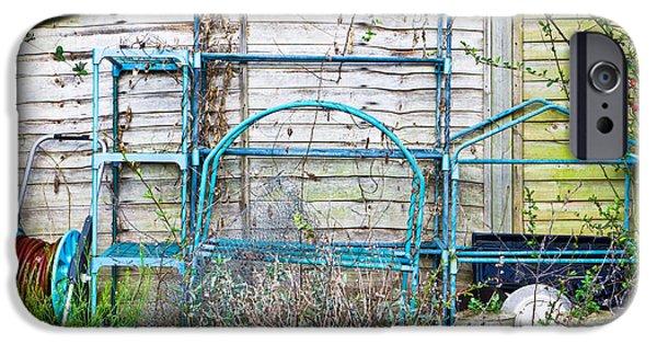 Blue Berry iPhone 6s Case - Garden Items by Tom Gowanlock