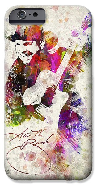 Saxophone iPhone 6s Case - Garth Brooks by Aged Pixel