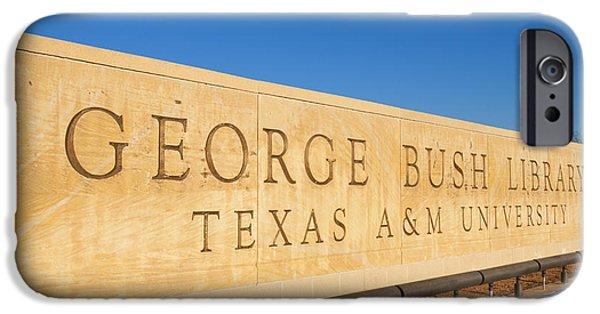 George Bush iPhone 6s Case - George H. Bush Library, Texas by Bill Bachmann