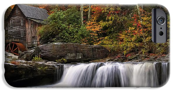 Glade Creek Grist Mill - Photo IPhone 6s Case