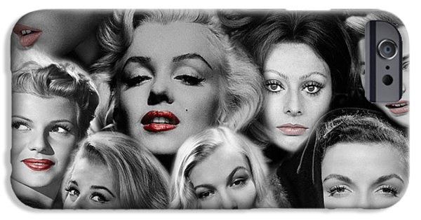 Glamour Girls 1 IPhone 6s Case by Andrew Fare