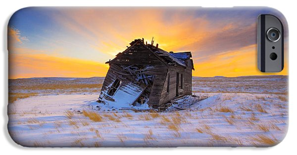 Rural Scenes iPhone 6s Case - Glowing Winter by Kadek Susanto