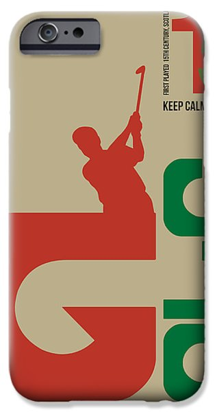 Golf Poster IPhone 6s Case
