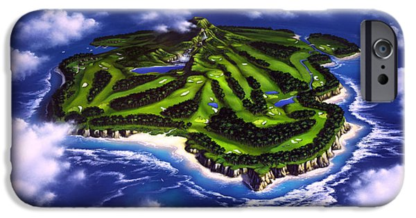 Golfer's Paradise IPhone 6s Case by Jerry LoFaro