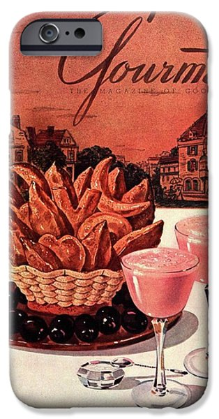 Smoothie iPhone 6s Case - Gourmet Cover Featuring A Basket Of Potato Curls by Henry Stahlhut