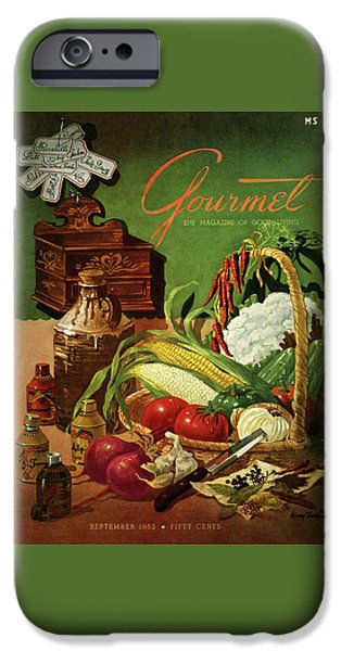 Gourmet Cover Featuring A Variety Of Vegetables IPhone 6s Case by Henry Stahlhut
