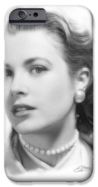 Grace Kelly Pencil IPhone 6s Case
