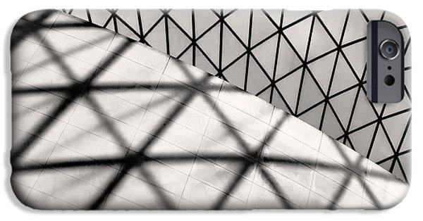Great Court Abstract IPhone 6s Case by Rona Black