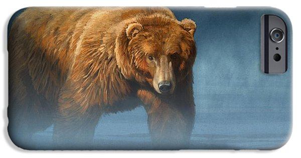 Grizzly Encounter IPhone 6s Case by Aaron Blaise