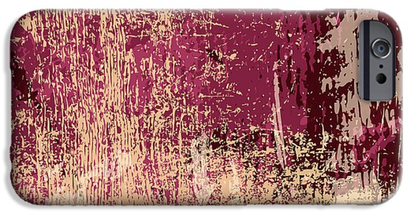 Space iPhone 6s Case - Grunge Retro Vintage Paper Texture by Kaidash