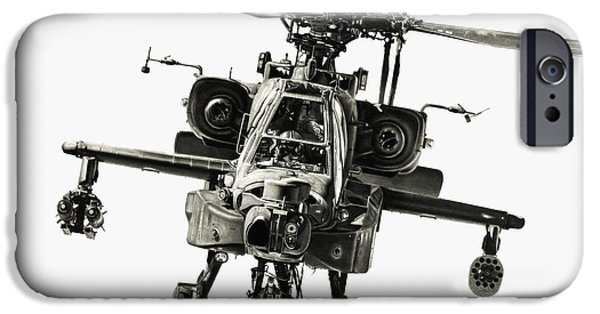 Helicopter iPhone 6s Case - Gunship by Murray Jones