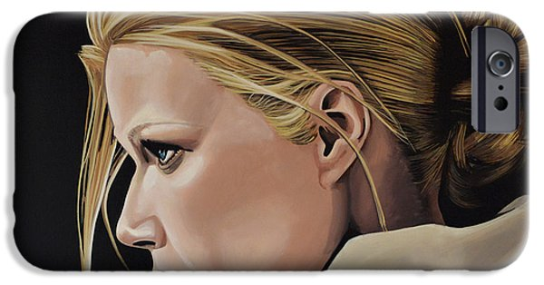 Perfume iPhone 6s Case - Gwyneth Paltrow Painting by Paul Meijering