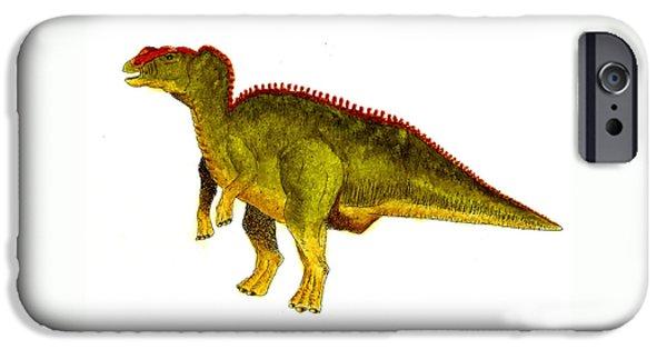 Hadrosaurus IPhone 6s Case by Michael Vigliotti