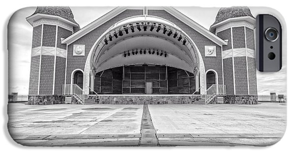 New England Coast iPhone 6s Case - Hampton Beach Bandstand Stage by Edward Fielding